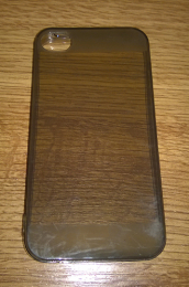 Silikonové pouzdro pro Apple iPhone 4/4S černé