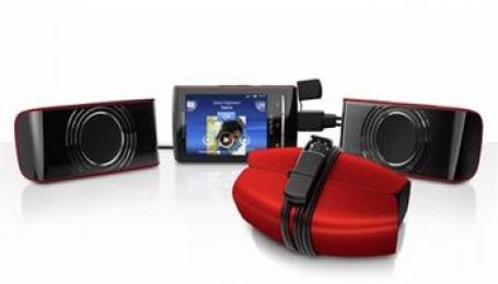 Sony Ericsson přenosné stereofonní reproduktory MS450