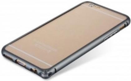 Ultratenký hliníkový bumper iPhone 6 - černý