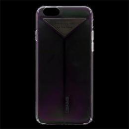 USAMS Dazzle Zadní Kryt Transparent Black pro iPhone 6/6S