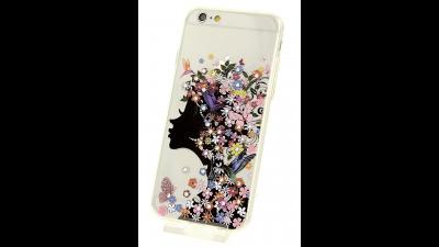 ... Plastový zadní kryt pro iPhone 6 a iPhone 6S s motivem květinové dámy.  PrevNext 2d4992c11ec
