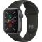 Apple Watch (MWV82HC/A) Series 5 40mm šedé s černým řemínkem