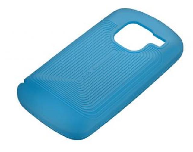Nokia CC-1007 silikonové  E5 modré