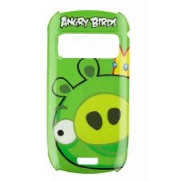 Nokia CC-5003 Green King Pig ochr. kryt Nokia C7