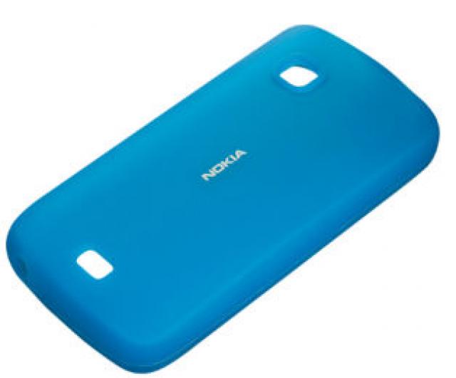 Nokia pouzdro silikonové CC-1012 pro Nokia C5-03, modrá