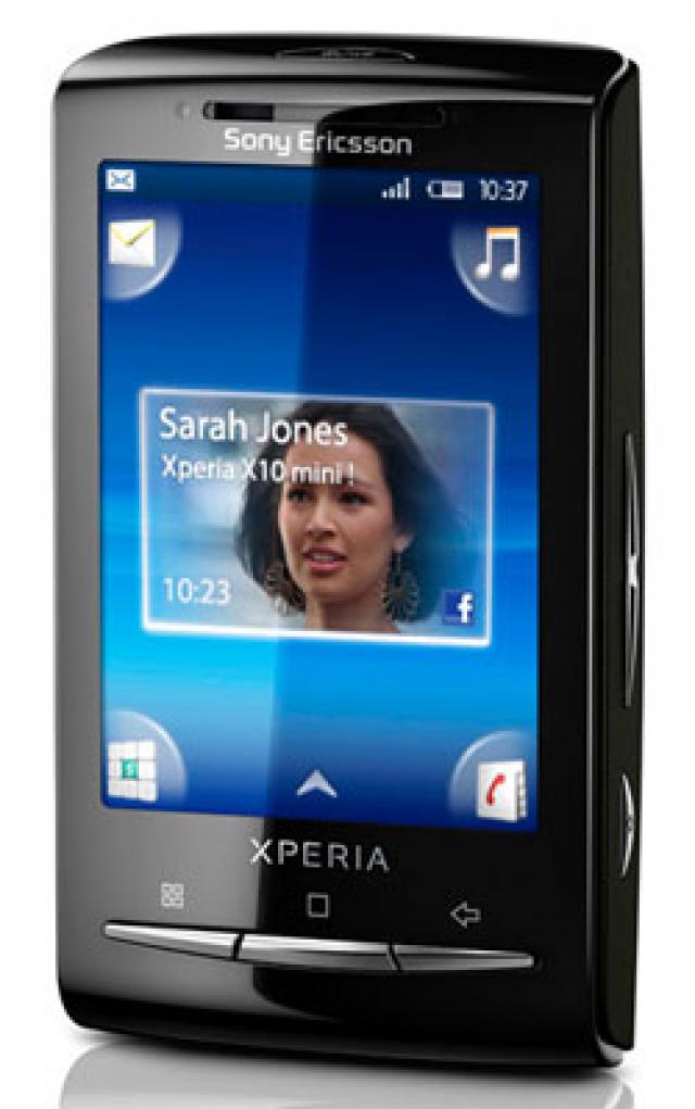 Sony Ericsson Xperia X10 Mini Pearl White Red